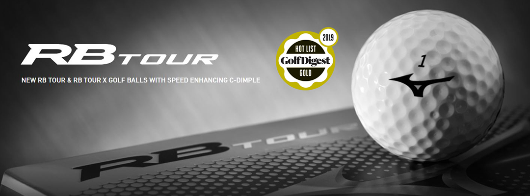 7ee57fa05cd2 Mizuno's new RB TOUR and RB TOUR X have been awarded 'Gold' by Golf Digest  in the 2019 HOT LIST Equipment awards.